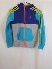 Adidas Kids Multi-Color Zippered Zip Up Hooded Hoodie Sweater Sweatshirt 3
