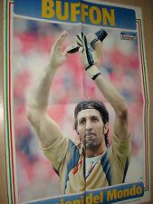 MAXI POSTER GIGI BUFFON FC JUVENTUS TUTTOSPORT 50 X 35 cm