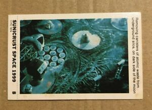SPACE 1999  - SUNICRUST Card #08 Gerry Anderson RARE IN UK Made in Australia