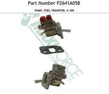 Perkins 4.108 Fuel Transfer Fuel Lift Pump,New Holland Gehl Vermeer Bobcat