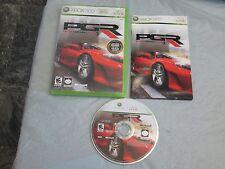 Project Gotham Racing 3 (Microsoft Xbox 360, 2005) complete