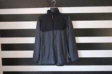ATHLETIC Works Men's Large Full Zip UP Jacket Gray/Black Jacket Size L Large