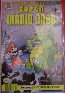 ADVENTURES SUPER MARIO BROS 8 VALIANT COMIC NINTENDO SYSTEM KING KOOPA 1991 NM