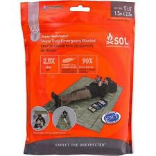 Survive Outdoors Longer Heavy Duty Emergency Blanket Green 0140-1225