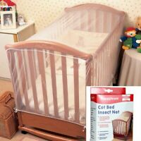 Crib Cot Insect Mosquitoes Wasps Flies Net For Infant Folding Crib Mosquito Nets