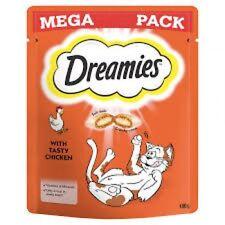 Dreamies Chicken Mega Pack Cat Treats 180g X 3 Packs Large