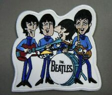 "The BEATLES  - Cartoon TV Series - Embroidered Iron-On Patch - 3""x 3"""