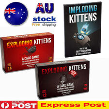 Exploding Kittens Card Game ORIGINAL + NSFW + IMPLODING Kitten Party Board Game