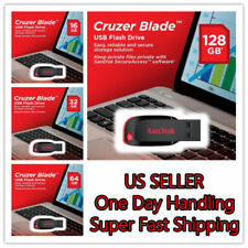 SanDisk Cruzer Blade 16GB 32GB 64GB 128GB USB 2.0 Flash Memory Pen Drive Stick