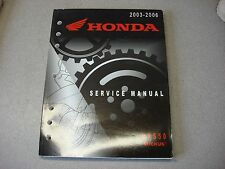 HONDA OEM SHOP MANUAL NPS 50 RUCKUS 2003-2006 GENUINE MAINTENANCE SERVICE