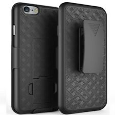 """Shell Holster Belt Clip Combo Case Cover For Apple 4.7"""" iPhone 6 6s w/ Kickstand"""