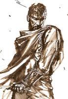 GABRIELE DELL'OTTO Illustrazione Originale ULISSE firmato SIGNED Original ART!