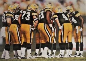 """Green Bay Packers #4 Brett Favre """"Huddle VI"""" 1996 Shoot Me An Offer!"""
