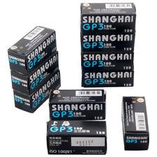 10x Shanghai GP3 120 Black & White B&W ISO 100 Roll Film Negative 02-2021 Fresh!
