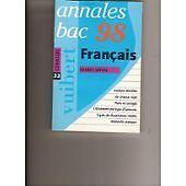 Collectif - Annales 1998, français bac corrigés, numéro 33 - 1997 - Broché