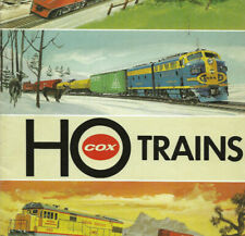 COX TRAINS (HO) Catalog/Booklet-Circa 1972-1975-Model Railroads