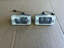 Ford Escort mk1 Front Indicator Units...new magnum Parts....pair....Clear Lens