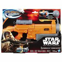 NERF Chewbacca Bowcaster Super Soaker B4446EU5 Star Wars Episode VII