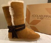 KOOLABURRA BY UGG, ROZALIA TALL 1020243 CHESTNUT SIZE 9 WOMAN'S BOOTS BRAND NEW