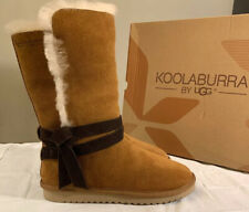 KOOLABURRA BY UGG, ROZALIA TALL 1020243 CHESTNUT SIZE 11 WOMAN'S BOOTS BRAND NEW