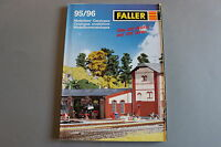 X030 FALLER Train catalogue Ho N Z 1995 96 298 pages 29,8*21,2 cm  F ANG D