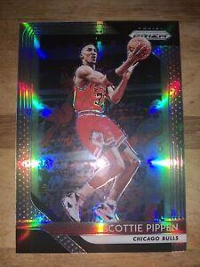 2018-19 Panini Prizm Prizms Silver #65 Scottie Pippen