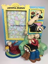 Popeye Olive Oyl Swee'Pea Wimpy Bluto Picture Frame Universal Studios