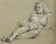 Cadmus Paul Female Nude Print 11 x 14  #4770