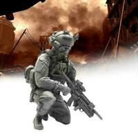 1/35 Resin Soldier USA Navy Seal Assault Team Military Figure Model SII Kit I8T7