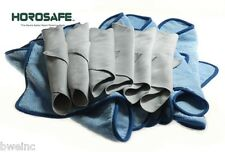 DAILY CLEANING / BUFFING KIT - 6 MICROFIBER & 6 HOROSAFE polish cloths