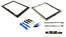 Apple iPad 4 Pantalla Táctil Digitalizador Cristal Modelo A1460 negro+Homebutton