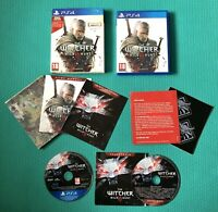 The Witcher 3: Wild Hunt - PlayStation 4 PS4 -Complete With Bonus Content