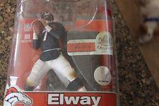 JOHN ELWAY, NFL LEGENDS 3, DARK BLUE JERSEY MCFARLANE, DENVER BRONCOS