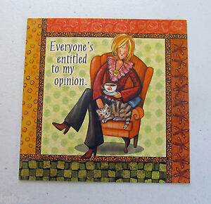 Leanin Tree Birthday Greeting Card Funny Friendship Multi Color Qubes Series Q7