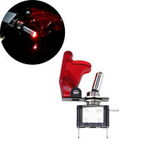 Universal Car Auto Engine Start Button Switch Ignition Starter Kit Red LED DC12V