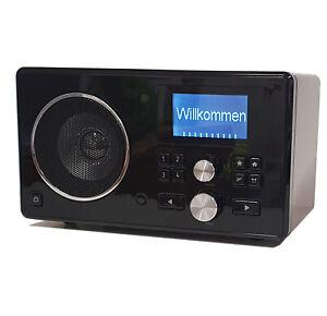 Tchibo WLAN Radio mit Speicher Internetradio Streaming über PC Schwarz 288195