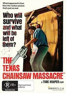 The Texas Chain Saw massacre (DVD) NEW/SEALED [All Regions]