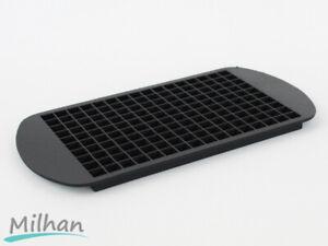 Mini Silicone Ice Cube Tray Black Tiny
