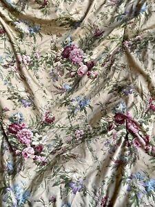 RARE! RALPH LAUREN Sateen ADRIANA FULL QUEEN Comforter Floral EUC Floral
