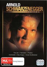 True Lies / Terminator / Predator / Commando / Stay Hungry /Conan the Barbarian