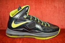 low priced ef165 8589b CLEAN Nike Lebron X 10 Dunkman Seaweed Atomic Green Size 10.5 541100-300