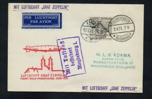 1931. AIR MAIL. ZEPPELIN COVER. FRIEDRICHSHAVEN-MAGDEBURG. LZ-127 GRAF ZEPPELIN.