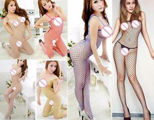 Women Lingerie Mesh Underwear Naughty Fishnet Sexy Costume Laces Bodystocking
