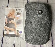 Boppy ComfyFit Baby Carrier Wrap Gray 8-35 pounds