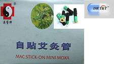 One pack self adhesive moxa 180 pieces sticks for moxibustion
