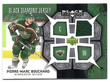 Pierre-Marc Bouchard, 2007-08 Upper Deck Black Diamond Jersey card, # BDJ-PB,