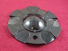 Fierro Wheels Gloss Black Custom Wheel Center Cap # 6461875-2 (1)