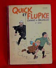Hergé. les nouveaux exploits de QUICK et FLUPKE 4me série. 1942. A18.