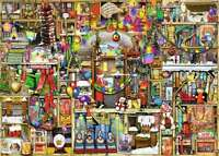 Ravensburger Colin Thompson Christmas Cupboard 1000pc Jigsaw Puzzle RB19468-1
