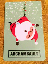 2019 ARCHAMBAULT Limited Edition HOLIDAY SANTA Gift Card No Value *french*